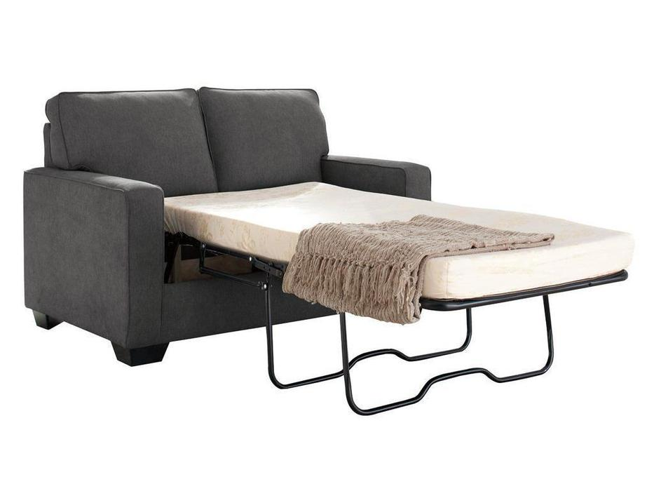 Ashley: Zeb: диван 2 местный  раскладной (серый)