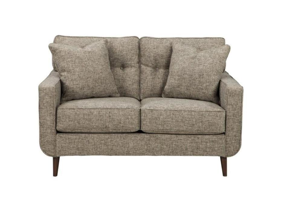 Ashley: Dahra: диван 2-х местный  (серый)