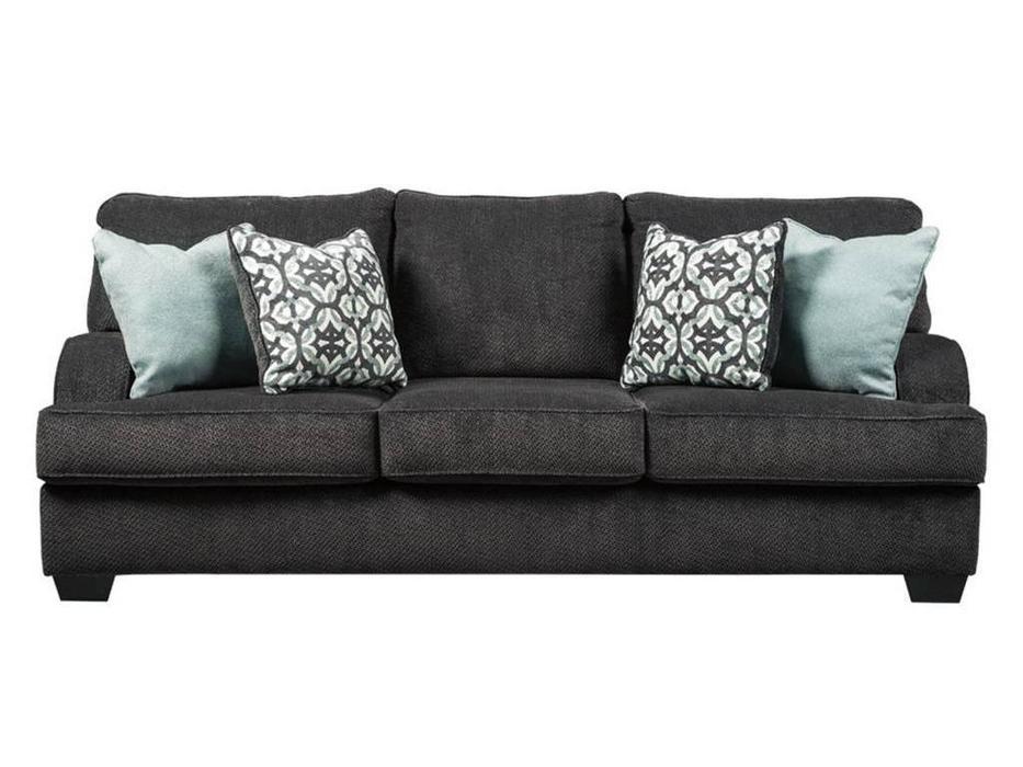 Ashley: Charenton: диван 3-х местный  раскладной (серый темный)