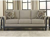 Ashley: Blackwood: диван 3-х местный  раскладной (серый)