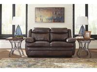 Ashley: Hannalore: диван 2-х местный  (коричневый)