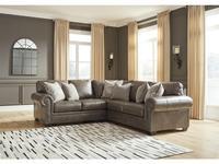 Ashley: Roleson: диван угловой 2+2  (коричневый)