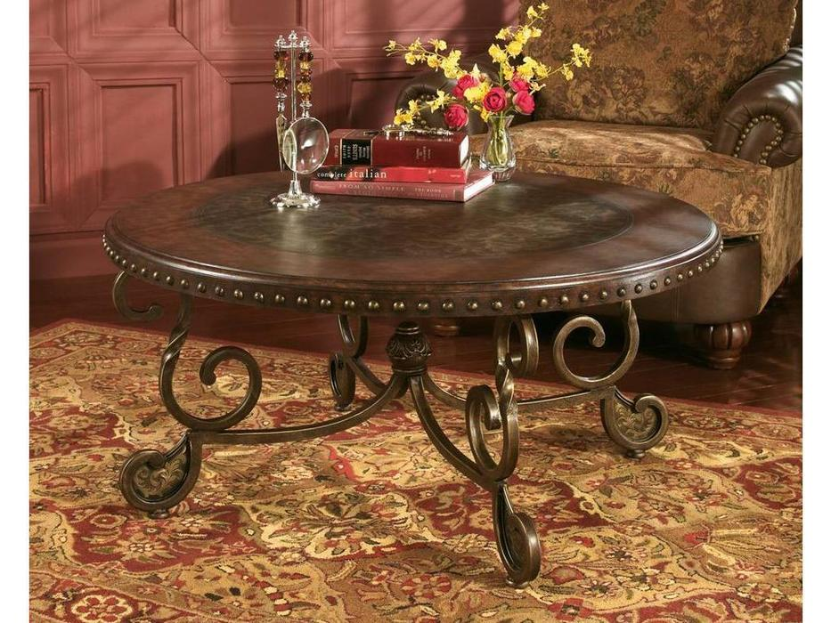 Ashley: Rafferty: стол журнальный  (коричневый)