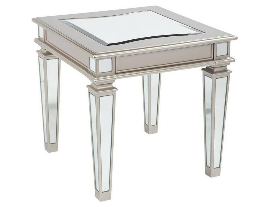 Ashley: Tessani: стол журнальный  (серебристый)