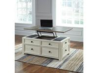 Ashley: Bolanburg: стол журнальный-трансформер  (белый)