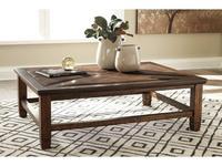 Ashley: Royard: стол журнальный  (коричневый)