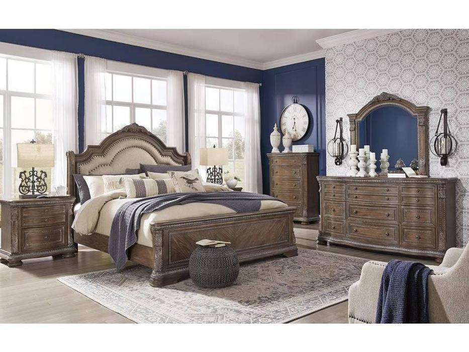 Ashley: Charmond: спальная комната  (коричневый)