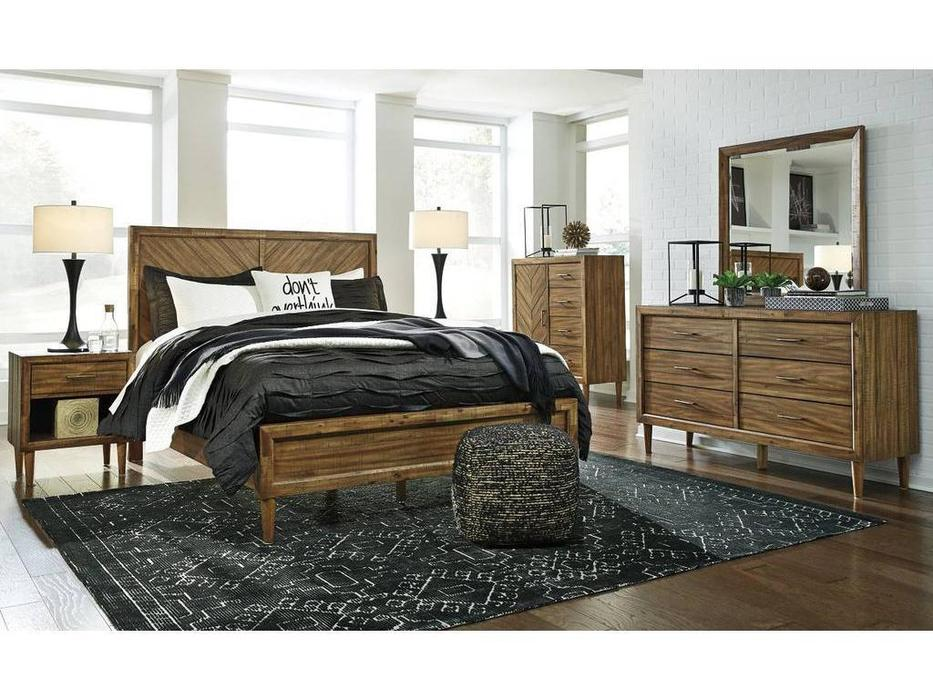 Ashley: Broshtan: спальная комната  (коричневый)