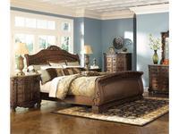 5239788 кровать двуспальная Ashley: North Shore