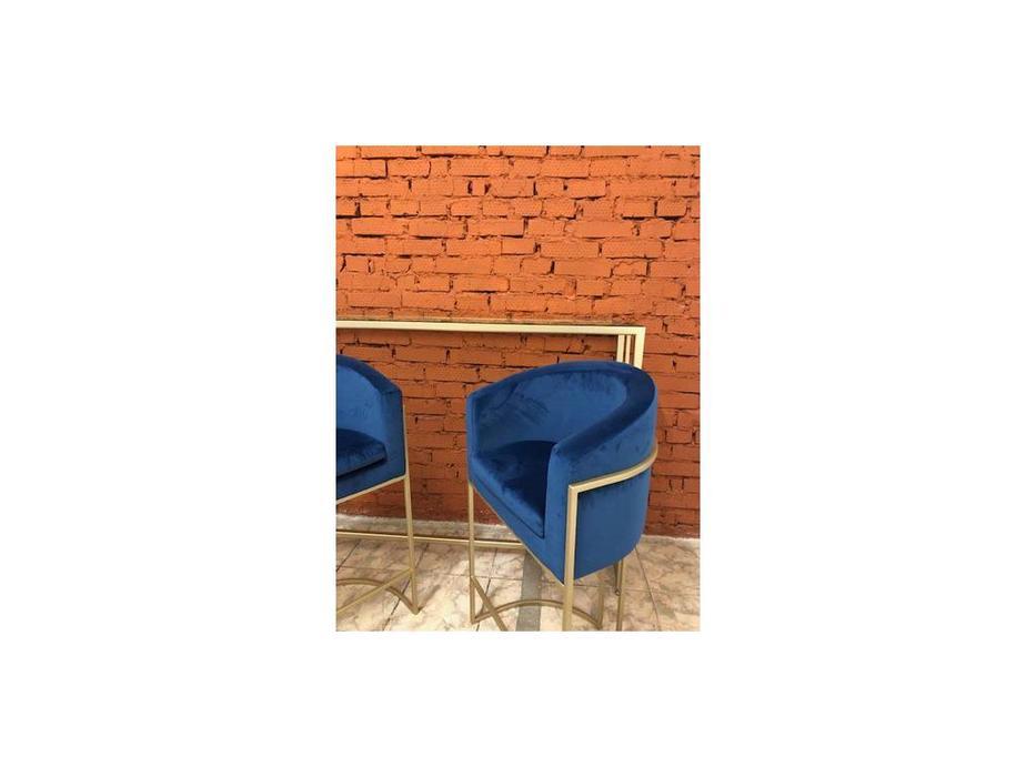 Ламберти: Альберто: стул барный  ткань велюр