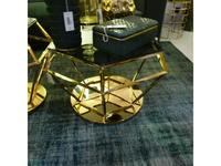 Ламберти: Бриллиант: стол журнальный  (золото, черный)