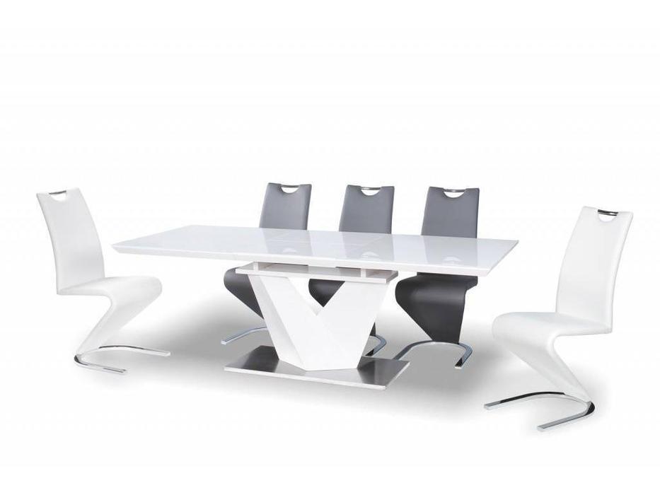 Signal: Alaras III: стол обеденный раскладной (белый)  (белый)