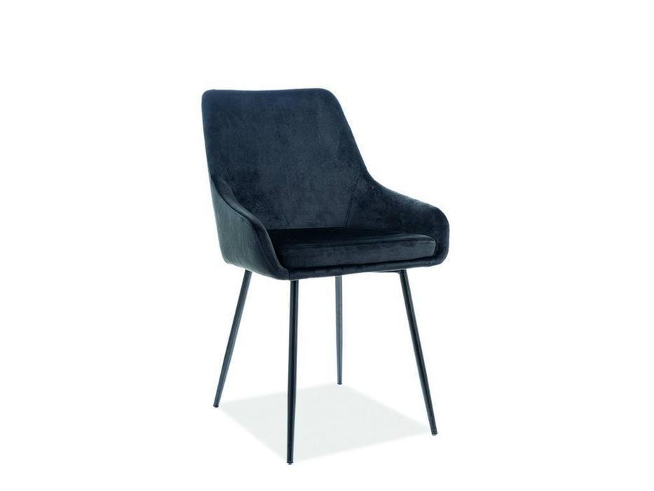 Signal: Albi Velvet: стул мягкий (черный)