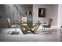 Signal: Aston: стол обеденный (стекло)