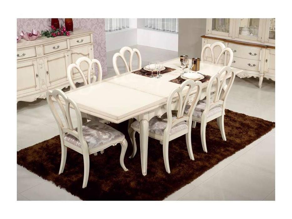 Jose Duraes: Edition: стол обеденный  Vintage раскладной (слоновая кость)