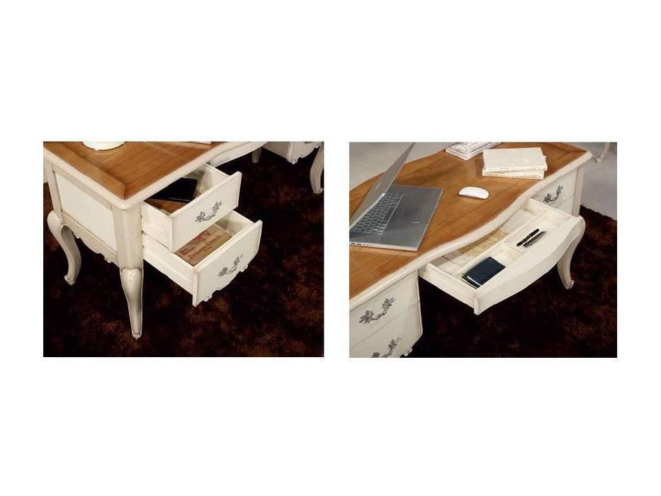 Jose Duraes: Edition: стол письменный  Vintage (слоновая кость)