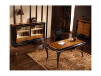 Jose Duraes: El lord: стол письменный  (вишня, черный)