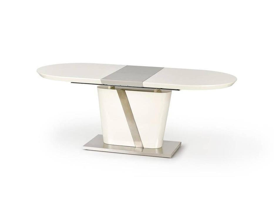Halmar: Iberis: стол обеденный раскладной (крем)