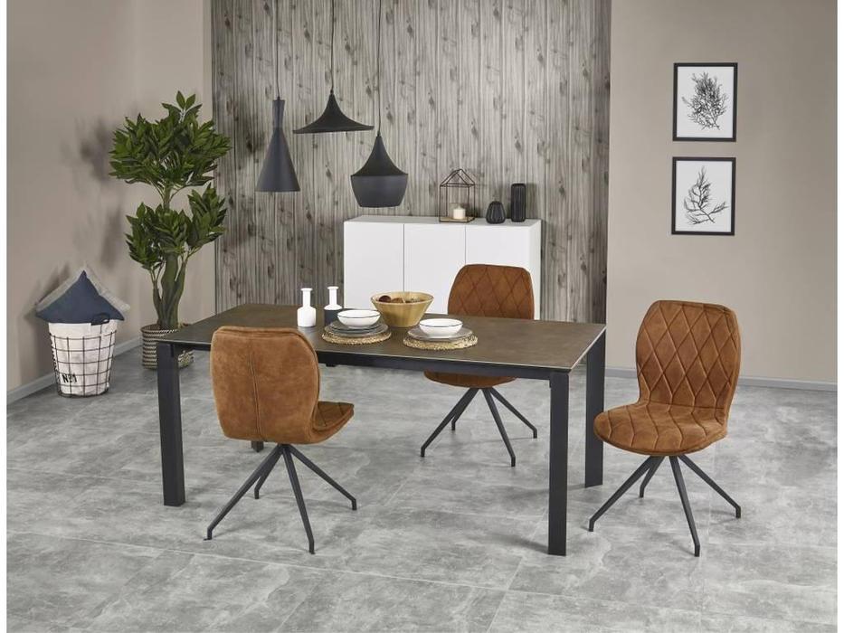 Halmar: Horizon: стол обеденный раскладной (керамика)