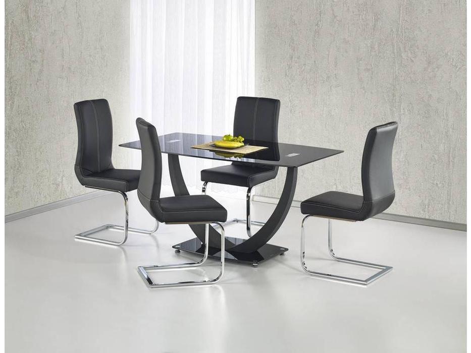 Halmar: Anton: стол обеденный (черный)