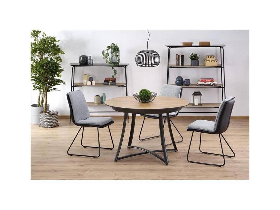 Halmar: Moretti: стол обеденный раскладной (дуб золотой)