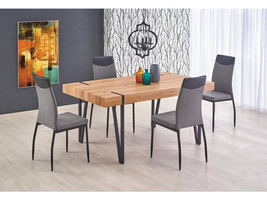 Halmar: Yohann: стол обеденный (дуб золотой)