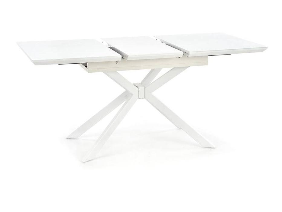 Halmar: Harper: стол обеденный раскладной (белый)