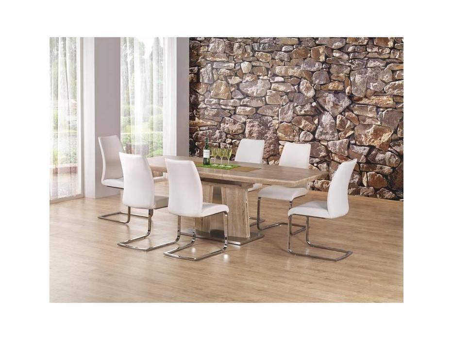Halmar: Rafaello: стол обеденный раскладной (дуб сонома)