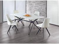 Halmar: Pascal: стол обеденный (белый)