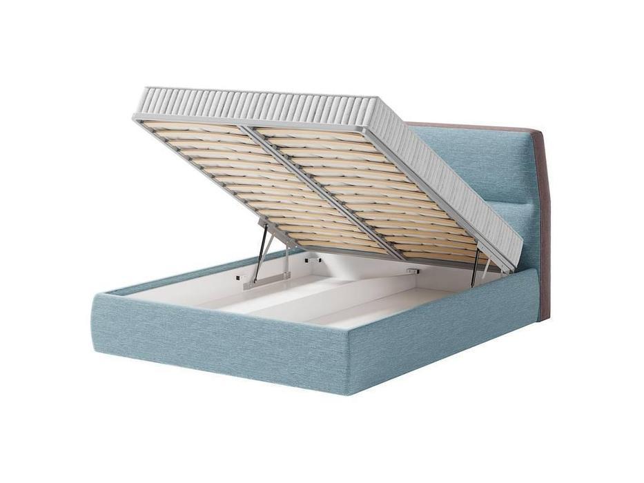 Artsit: Нолан: кровать с подъемным механизмом 140х200 (голубой)