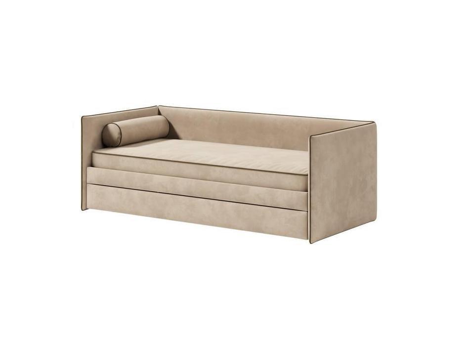 Artsit: Берт: кровать с ящиком 90х200 (беж)