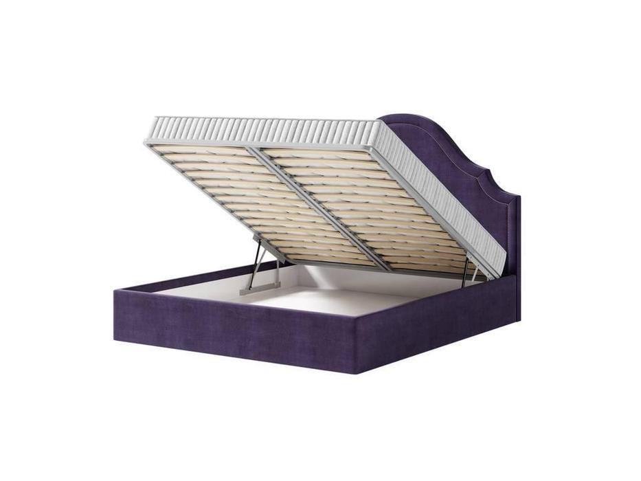 Artsit: Дастин: кровать с подъемным механизмом 180х200 (фиолетовый)