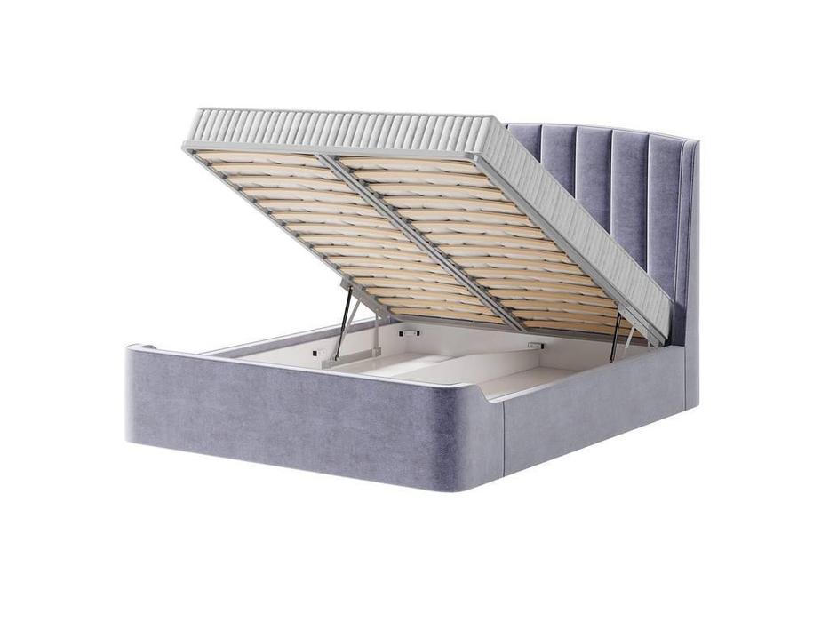 Artsit: Фабьен: кровать с подъемным механизмом 160х200 (серый)