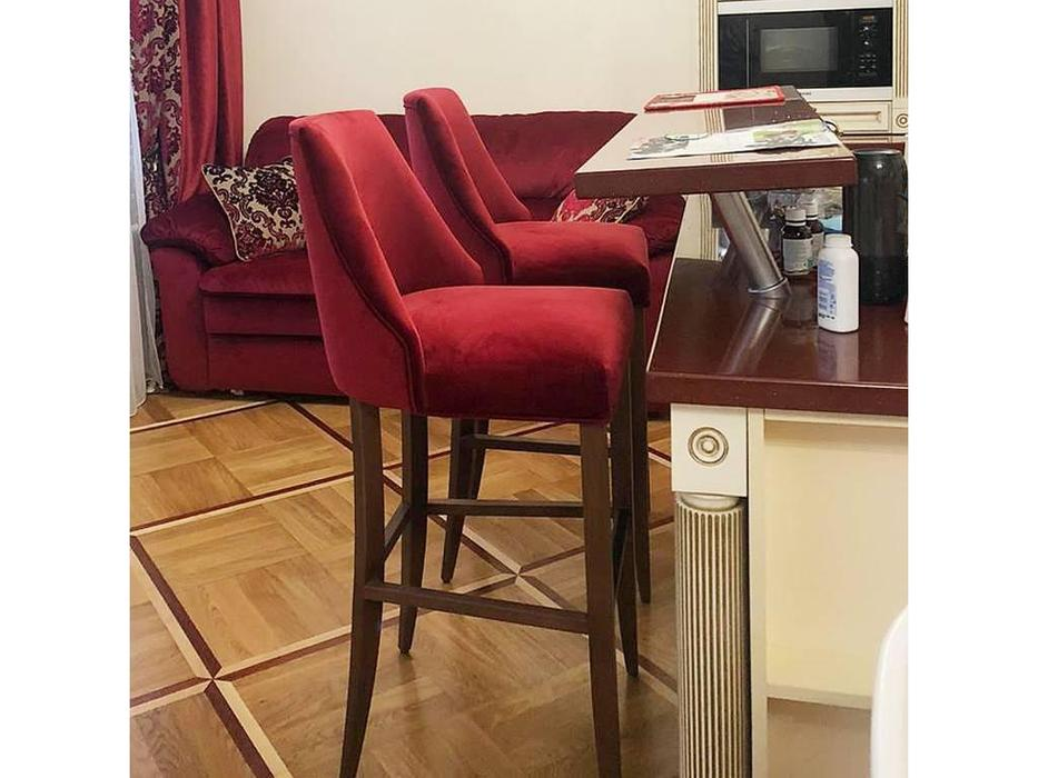 Artsit: Дэн: стул полубарный (красный)