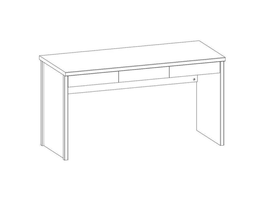 Anrex: Jazz: стол письменный 140 (каштан найроби)