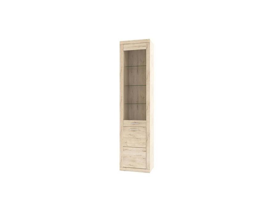 Anrex: Oskar: витрина  узкая (дуб санремо)