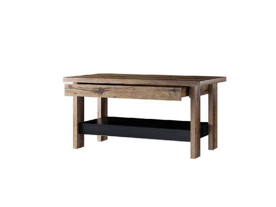 Anrex: Jagger: стол журнальный (дуб монастарский,черный)