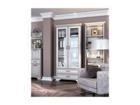 Anrex: Tiffany: витрина 2 дверная  (вудлайн кремовый)