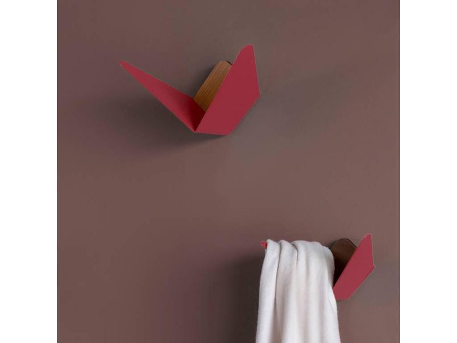 Umage: Butterflies: вешалка  крючок (рубиново красный)