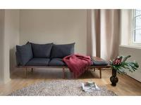 Umage: Lounge Around: диван 3 местный  (темный дуб)