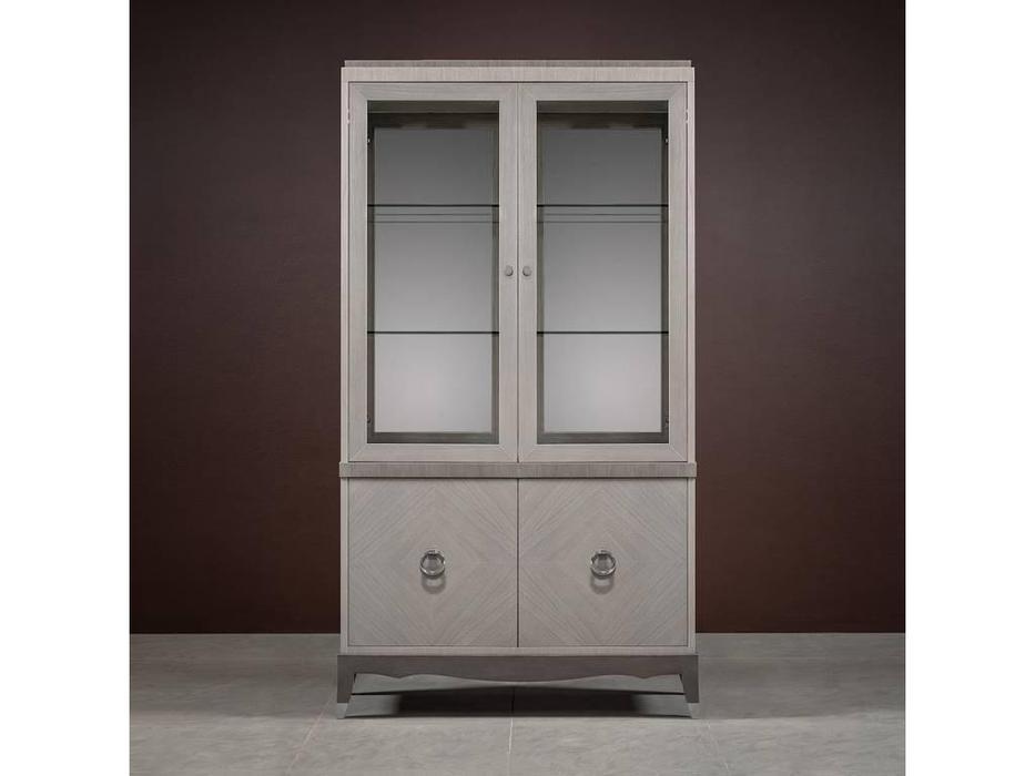 RFS: Монте-Карло: витрина 2 дверная  (дуб дымчатый, пепельный)