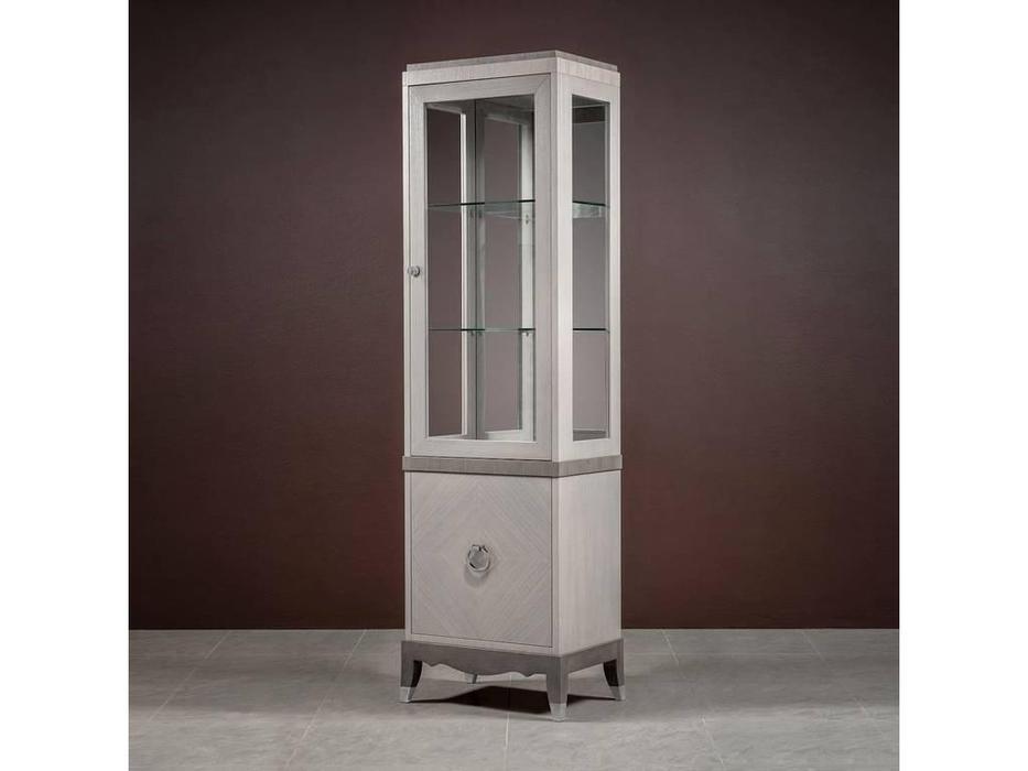 RFS: Монте-Карло: витрина 1 дверная  правая (дуб дымчатый, пепельный)
