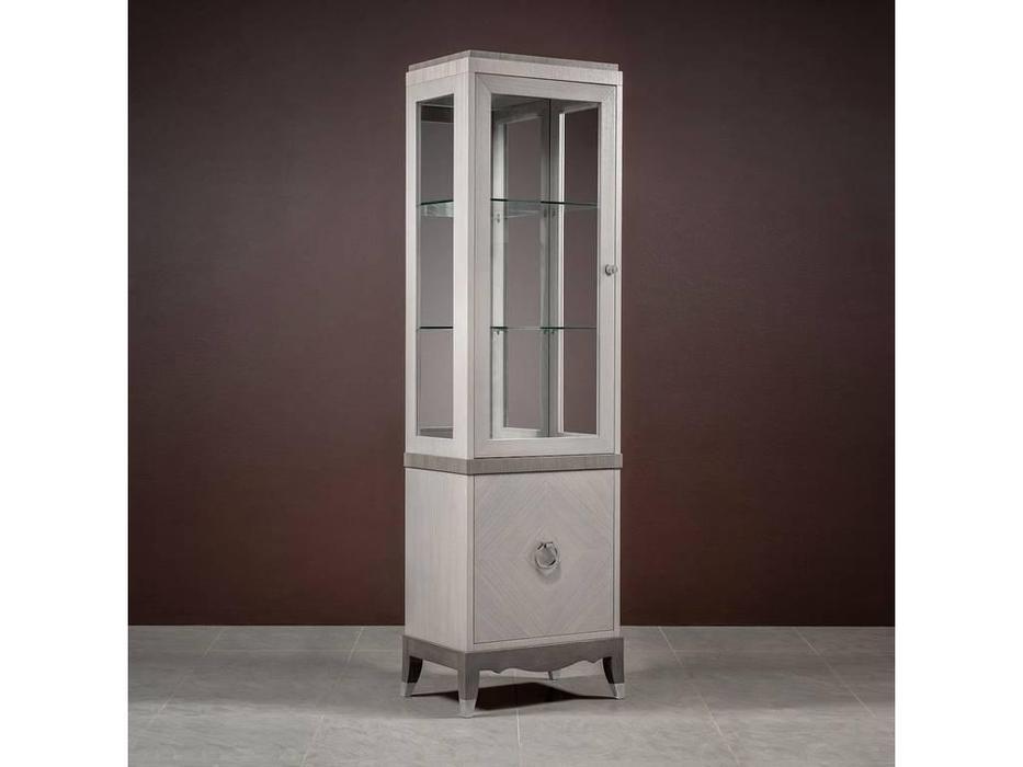 RFS: Монте-Карло: витрина 1 дверная  левая (дуб дымчатый, пепельный)
