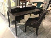 RFS: Тоскана: стол письменный  с надстройкой (мореный дуб)