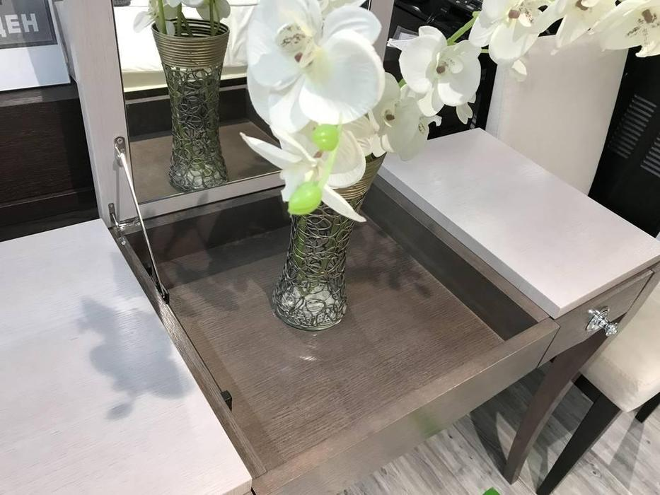 RFS: Монте-Карло: стол туалетный  с откидным зеркалом (дуб дымчатый, пепельный)