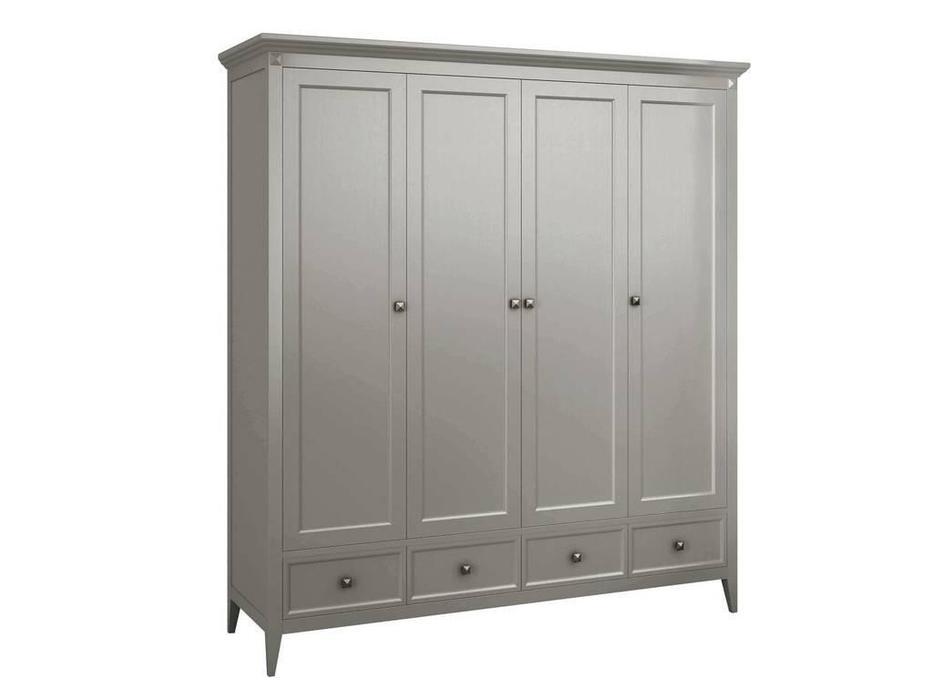 RFS: Бруклин: шкаф 4 дв  (серый)