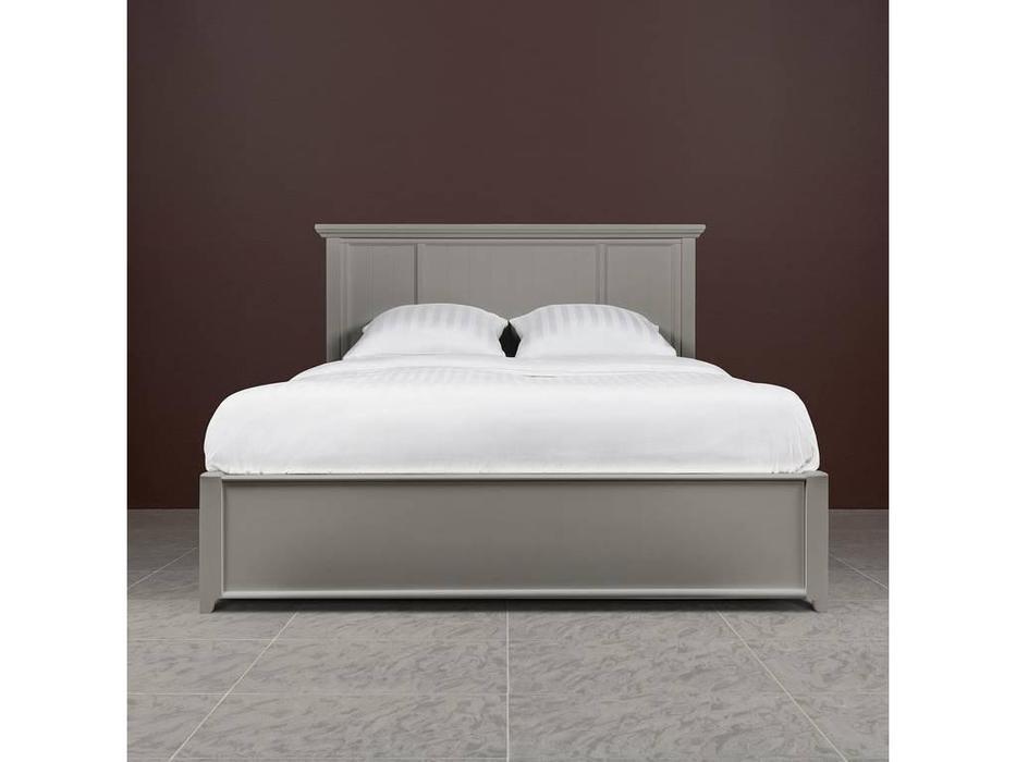 RFS: Бруклин: кровать 160х200  с подънмным мех-ом (серый)