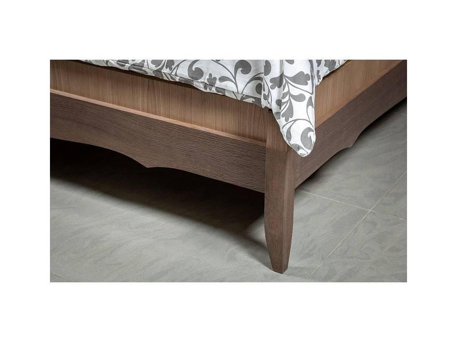RFS: Монте-Карло: кровать 160х200  (дуб медовый, серо коричневый)