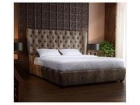 RFS: Селена: кровать 180х200 с подъемным механизмом (серо бежевый)