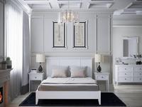 RFS: Бруклин: кровать 90х200  (молочный)